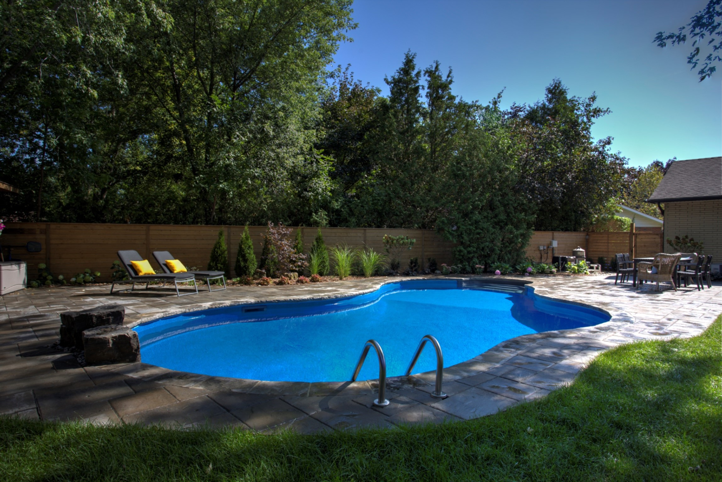 New construction mirage pool services for Latest swimming pool