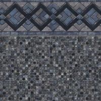 Cobalt Lake - Grey Mosaic