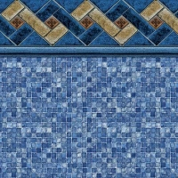 Mountain Top - Blue Mosaic