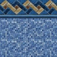 Mountain Top - Blue Mosaic