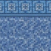 Vintage Mosaic - Blue Mosaic