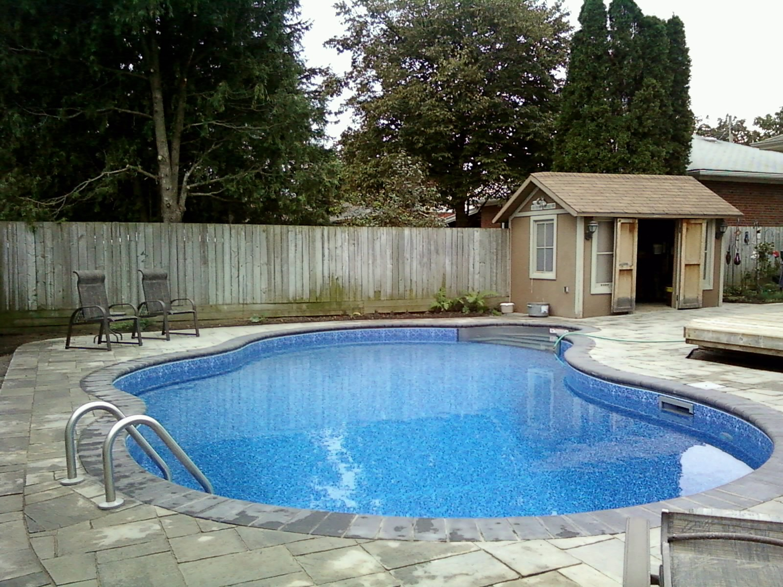pool finished -3 x