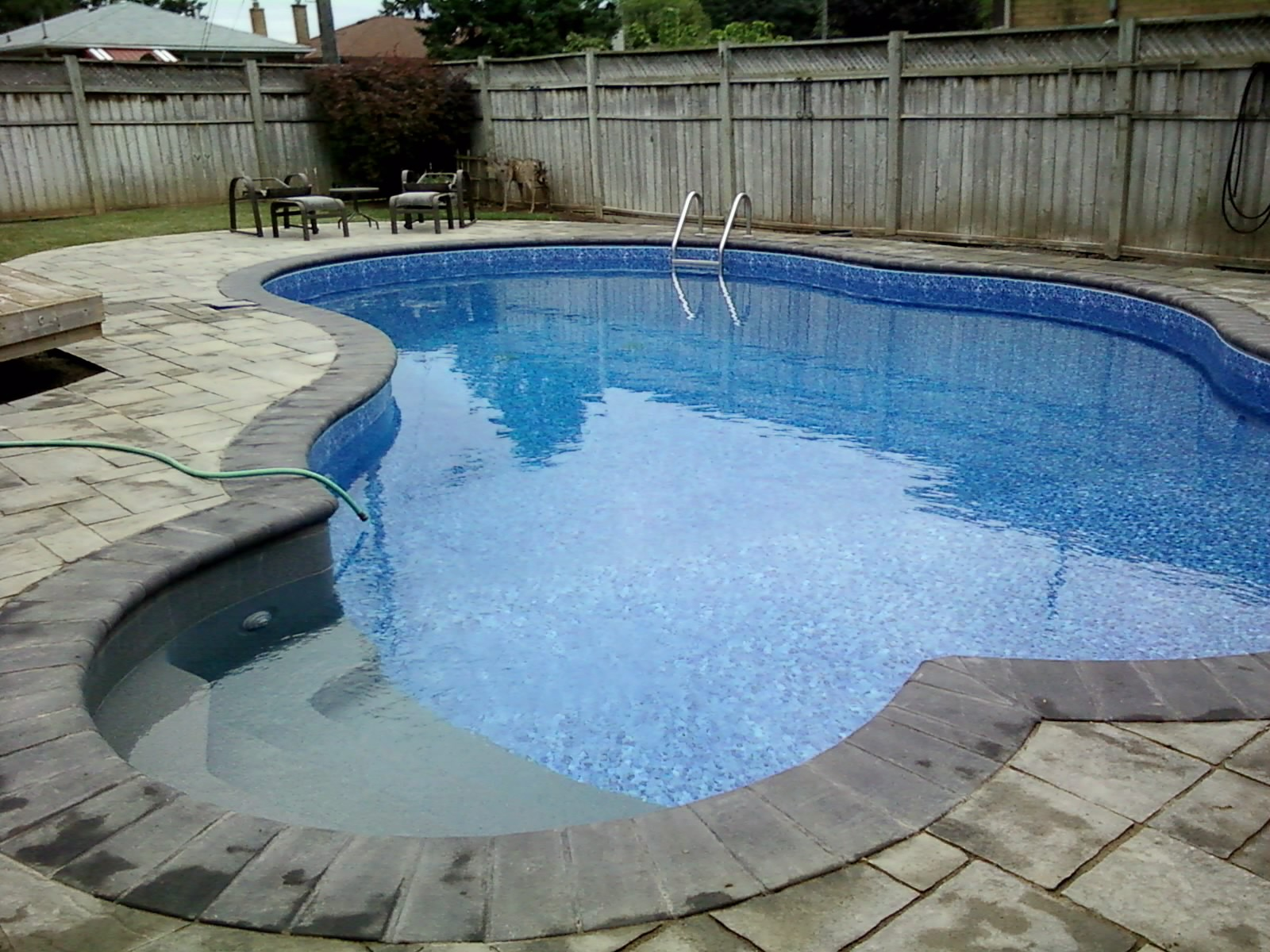 pool finished -4 x